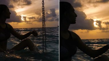 Kasautii Zindagii Kay's Erica Fernandes Turns Water Baby During Maldives Vacation (View Pic)