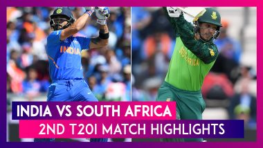 India vs South Africa, 2nd T20I: Virat Kohli & Men Beat SA by Seven Wickets