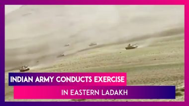 Indian Army Conducts Exercise In Eastern Ladakh In The Presence Of Northern Army Commander