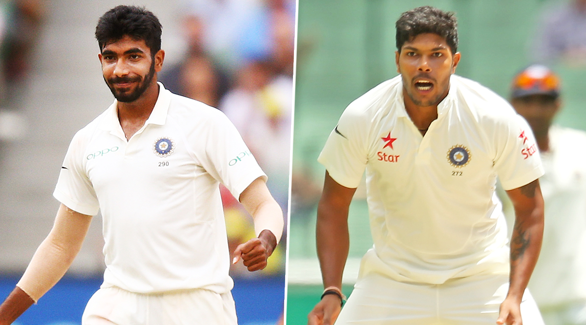 Jasprit Bumrah Sustains Minor Fracture in Lower Back, Ruled Out of India vs South Africa 2019 Test Series, Umesh Yadav Comes In As Replacement