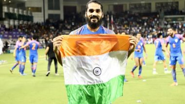 Sandesh Jhingan, Gurpreet Singh Sandhu, Sunil Chhetri Hail Blue Tigers After Qatar vs India, FIFA World Cup 2022 Qualifiers (Watch Video & Read Tweets)