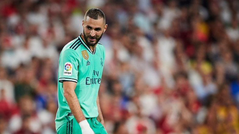 Karim Benzema Equals Lionel Messi's Record of Most Goals Scored in 2019 During Real Madrid vs Sevilla La Liga Football Match