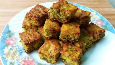 Ganeshotsav 2019 Bhog for Day 5 – Kothimbir Vadi: Offer This Traditional & Easy Snack to Ganpati Bappa on Ganesh Chaturthi (Watch Video)