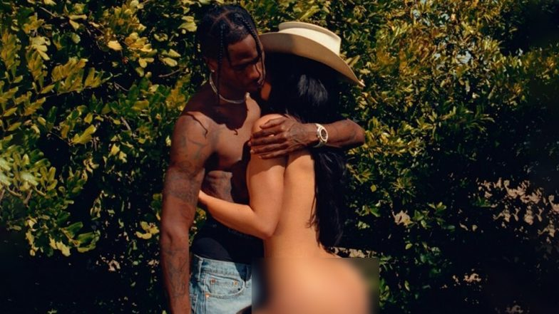 Kylie Jenner Gets Butt-Naked With Boyfriend Travis Scott for Playboy Magazine! View Racy Pic of Fashion Mogul on Instagram!