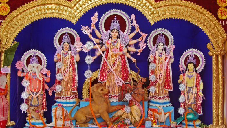 Maa Durga Aagman 2019 & Its Significance: Know Goddess Durga's Vahan for Arrival and Departure This Sharad Navratri