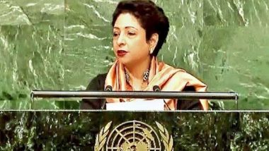 Pakistan Envoy to UN Maleeha Lodhi Calls British PM Boris Johnson the 'Foreign Minister' of UK