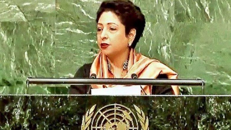 Pakistan Envoy to UN Maleeha Lodhi Calls British PM Boris Johnson the 'Foreign Minister' of UK