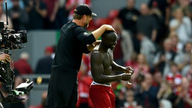 Sadio Mane Give Away his Jersey to a Fan After Liverpool Defeats Newcastle City by 3-1 in EPL 2019-20 Match (Watch Video)