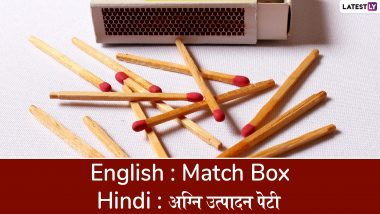 Hindi Diwas 2019 Special: Common English Words Translated into Hindi We Bet You Haven't Heard Before