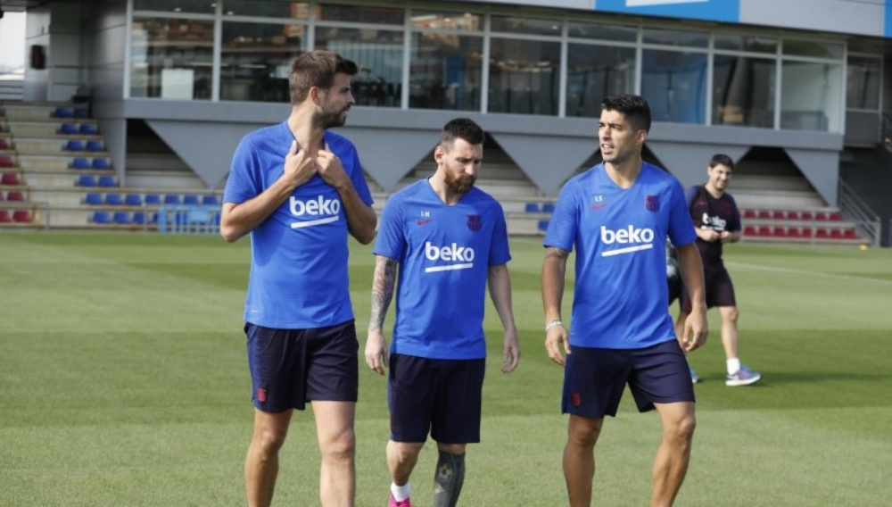 Lionel Messi Trains With Barcelona Team, Could Feature in Playing XI For UEFA Champions League 2019 Game Against Inter Milan (See Pics)