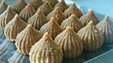 Ganesh Chaturthi 2019 Recipes: How to Make Soft and Crunchy Til Modak at Home This Ganeshotsav (Watch Video)