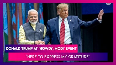 'Howdy, Modi': Donald Trump Says, 'I Am Here To Express Gratitude To 4 Million Indian-Americans'