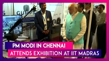PM Narendra Modi In Chennai: Takes Stock Of Exhibition On  IIT-Madras Research Park Start-ups