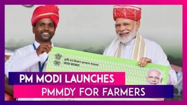 PM Narendra Modi Launches PMMDY For Farmers, Here Are All Key Features Of The Scheme