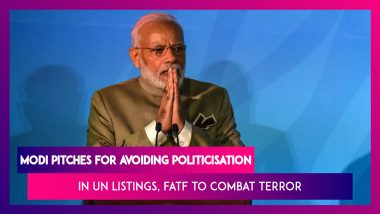 PM Narendra Modi Pitches For Avoiding Politicisation In UN Listings, FATF To Combat Terror: MEA