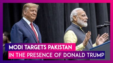 'Where Were Conspirators Of 9/11 & 26/11 Found?': PM Modi Targets Pakistan In The Presence Of Trump