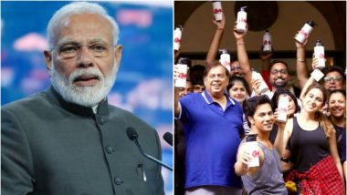 PM Narendra Modi Hails 'Coolie No. 1' Team for Supporting Move to Ban Single-use Plastic