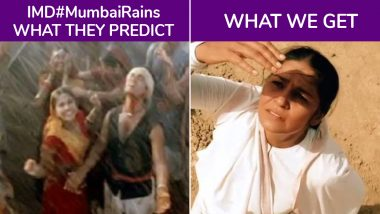 Mumbai Red Alert a Damp Squib? Twitterati Hilariously Trolls Weather Department for 'Inaccurate' Rain Forecast Yet Again (Check Funny Tweets)