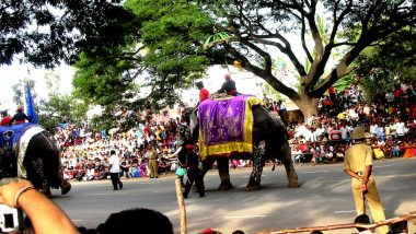 Mysore Dasara 2019 Dates and Celebrations: Know How Karnataka Celebrates the 10-Day Festival of Mysuru Dusshera During Navratri (Watch Video)