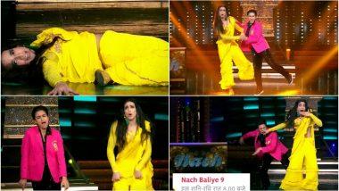 Nach Baliye 9: Shantanu-Nityaami Perfectly Impersonate Raveena Tandon and Ahmed Khan On Ayushmann Khurrana's 'Dream Girl' Themed Episode! (Watch Video)