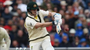 Australia & England Forced to Play Without Bails Due to Heavy Winds During Ashes 2019 Day 1; Netizens React (Watch Video & Pics)