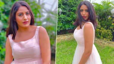 Surbhi Chandna Aka Dr Ishani of Sanjivani 2 Is a Vision in White as She Poses for the Camera (View Pics)