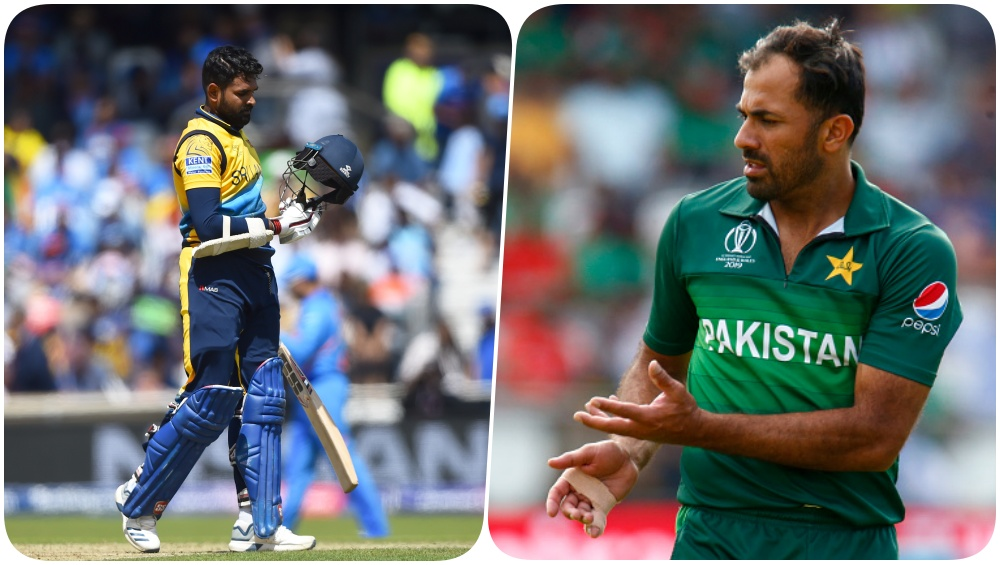 Lahiru Thirimanna and Wahab Riaz Indulge into a Banter Ahead of PAK vs SL, 1st ODI 2019 (Watch Videos)