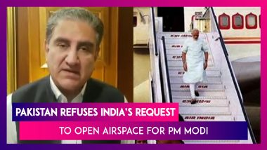 Pakistan Refuses India's Request To Allow PM Modi's Flight To Use Airspace, Links Decision To J&K