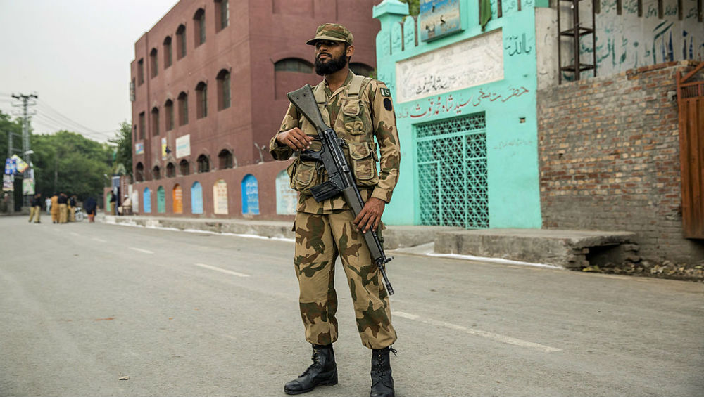 Pakistan Raises White Flag to Retrieve Dead Bodies of Two Soldiers Killed By Indian Army At LoC