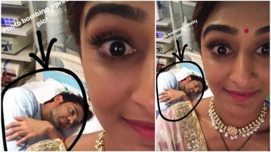 Kasautii Zindagii Kay 2 Actor Parth Samthaan Photobombs Erica Fernandes' Selfie in the Most Hilarious Manner (View Pic)