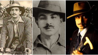 Bhagat Singh 112th Birth Anniversary: From Shammi Kapoor to Ajay Devgn – Bollywood Actors Who Have Played the Role of the Revolutionary Freedom Fighter