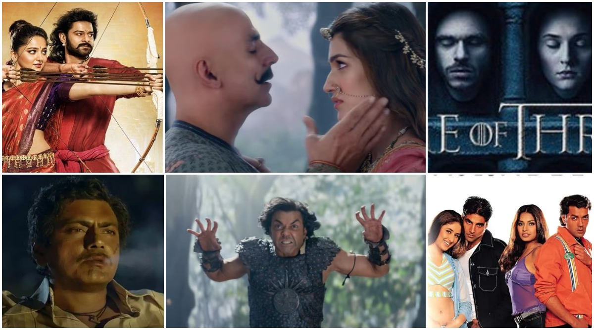 Housefull 4 Trailer: From Game of Thrones to Baahubali to Sacred Games, 10 Movies and Series Akshay Kumar and Kriti Sanon's Comedy Film Tried to Spoof