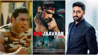 Marjaavaan Trailer: Did You Spot 'Abhishek Bachchan' in Sidharth Malhotra's Film? Check Out the Big Bull Actor's Hilarious Clarification on This!
