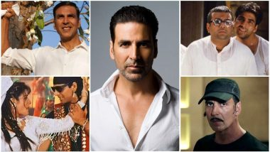 Akshay Kumar Birthday Special: 15 Movies That Defined the Career of the Superstar From Being the Khiladi Kumar to Box Office King!