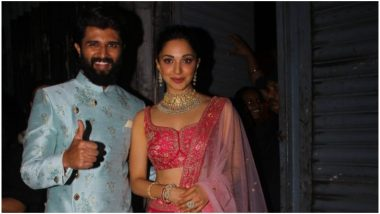 Vijay Deverakonda and Kiara Advani Photographed in Mumbai Post Photoshoot! Fans Can't Keep Calm After Seeing Them Together (View Pics)