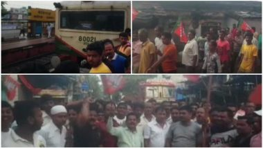 West Bengal: BJP Workers Call for 12-Hour Bandh in Barrackpore to Protest Against Attack on MP Arjun Singh