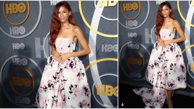 Yo or Hell No? Zendaya in Alexandre Vauthier for Emmys After-Party