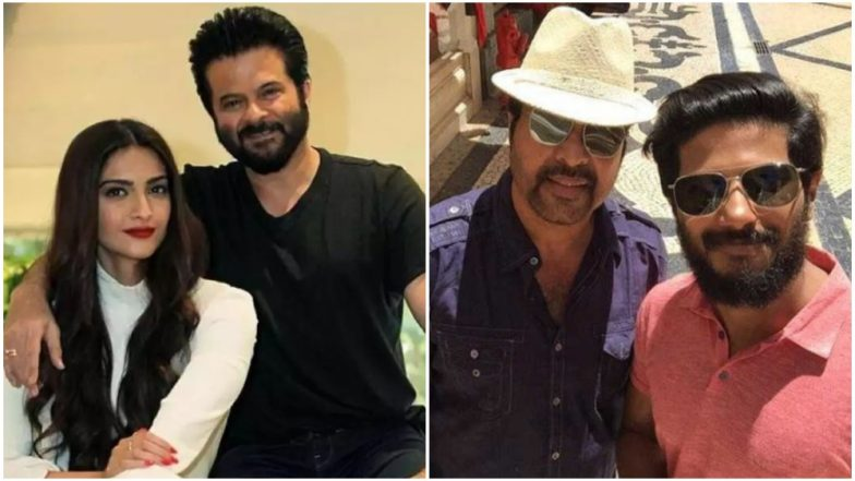 The Zoya Factor: As Sonam Kapoor and Dulquer Salmaan Come Together, Did You Notice This Extraordinary Similarity Their Fathers Anil Kapoor and Mammootty Share?