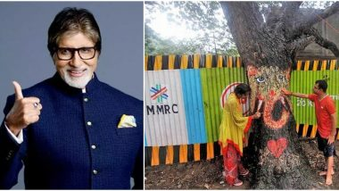 Is Amitabh Bachchan Supporting Mumbai Metro Rail Corporation (MMRCL) for Cutting of Trees in Aarey Colony? Twitterati Feels So!