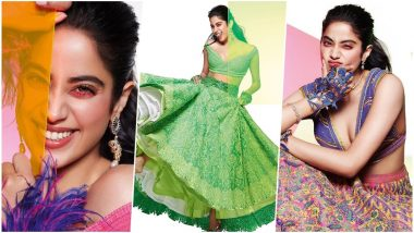 Janhvi Kapoor Unleashes her Goofy Side in this New Photoshoot for Brides Today (View Pics)