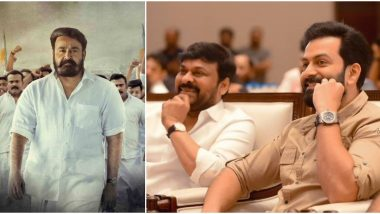 After Sye Raa Narasimha Reddy, Chiranjeevi to Star in Mohanlal's Lucifer Remake; Will Ram Charan Step Into Prithviraj Sukumaran's Role?