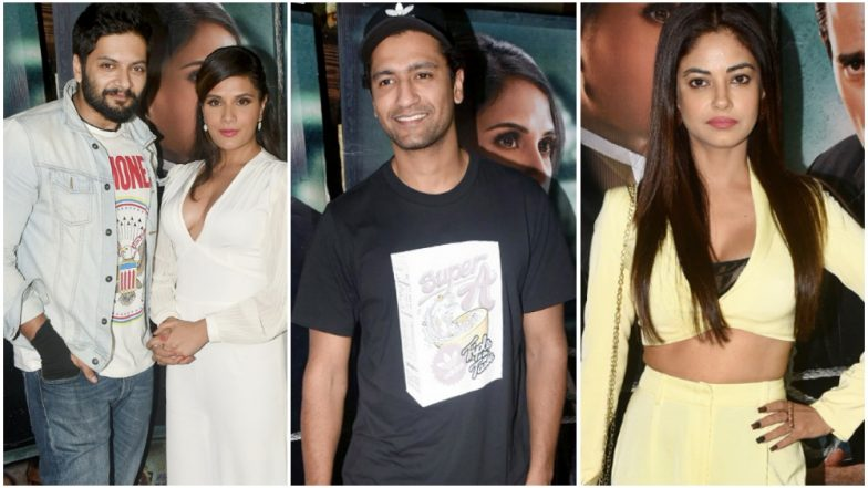 Section 375: Ali Fazal, Richa Chadha, Vicky Kaushal, Meera Chopra and Others Attend the Special Screening! View Pics
