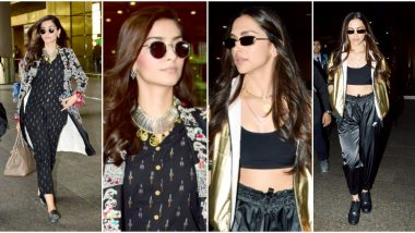 Deepika Padukone or Sonam Kapoor - Whose Airport Styling Deserves the Trophy for Being 'So Damn Gorgeous'?