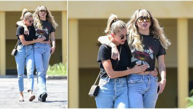 Miley Cyrus and Kaitylnn Carter's PDA Continues on the Streets of Los Angeles - View Pic