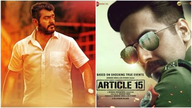 Thala Ajith's Next to Be the Tamil Remake of Ayushmann Khurrana's Article 15?