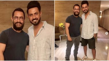 Aamir Khan Receives a Special Gift from Punjabi Singer Gippy Grewal, Actor to Sport It in Laal Singh Chadha