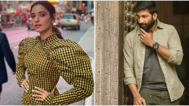 Tamannaah Bhatia Paired Opposite Gopichand in Sampath Nandi's Sports Drama