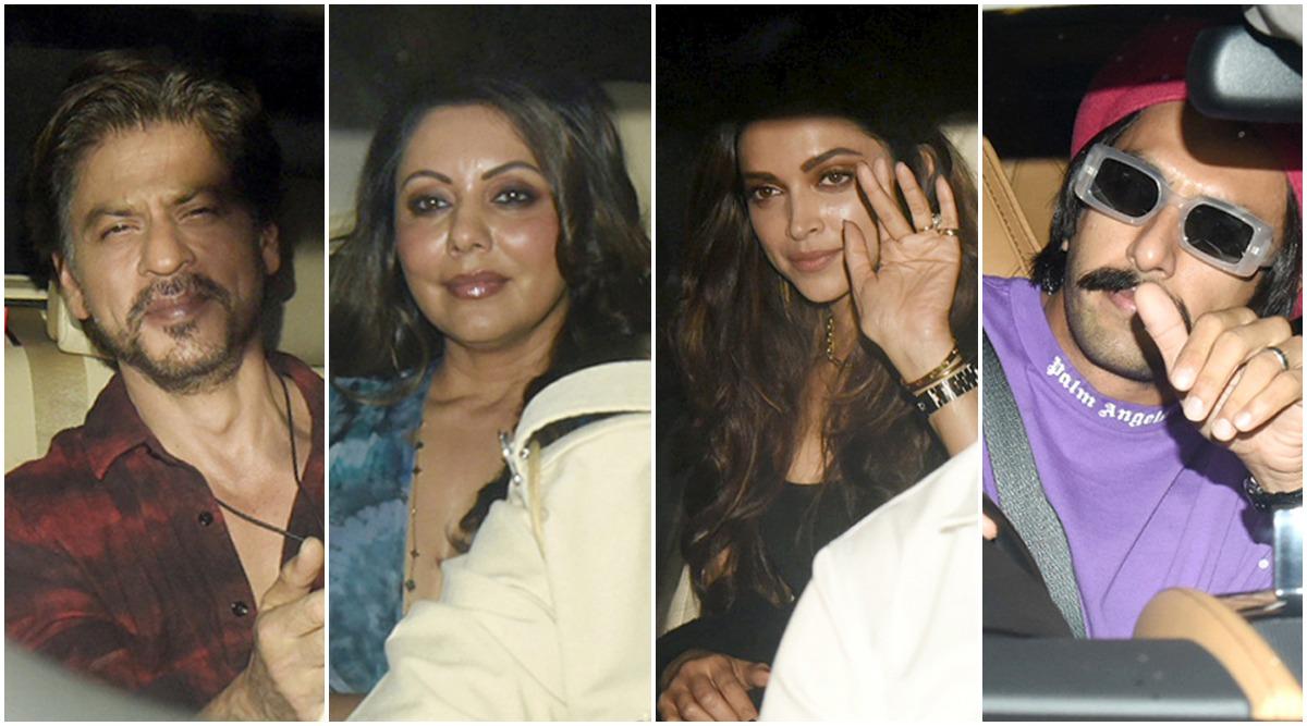 Ranbir Kapoor Birthday: Shah Rukh Khan-Gauri Khan, Deepika Padukone-Ranveer Singh and Others Arrive In Style for the Party (View Pics)