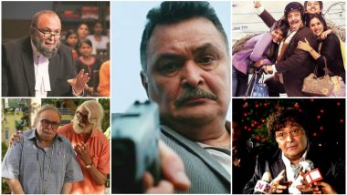 Rishi Kapoor Birthday Special: 10 Performances That Show His Second Innings Is His Riskiest, Subversive and the Most Enjoyable!