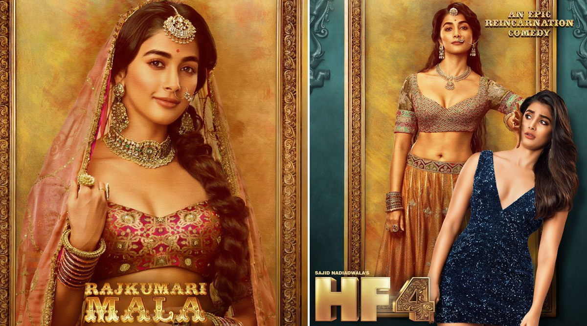 Housefull 4 New Poster: Pooja Hegde Looks Intriguing As Princess Mala and a Modern Babe